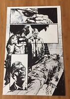 Original Art Jason Shawn Alexander Batman Joker Death Arkham DC Joaquin Phoenix