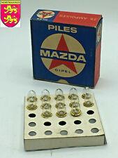 Anciennes Ampoules MAZDA CIPEL 4,5 V / 0,35 A Culots P13.5s Lampe Jouet Prefocus