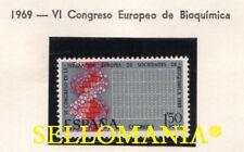 1969 VI CONGRESO EUROPEO DE BIOQUIMICA EDIFIL 1920 ** MNH BIOCHEMISTRY   TC21005