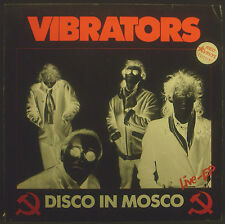 "12""Maxi VIBRATORS - disco in mosco, red wax, nm"