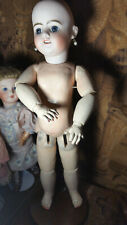 Antique Head SFBJ Doll 18' / 45cm Size 6 / JUMEAU Body