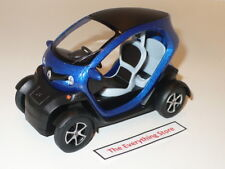 KINSFUN RENAULT TWIZY 1:18 SCALE METALLIC BLUE NEW NO BOX USA FREE SHIP