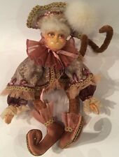 Katherine's Collection Wayne Kleski Retired Monkey Doll (B)