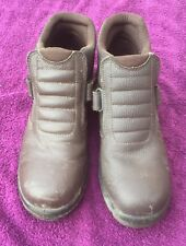 Brown Steel Toe Capped Boots Size 10