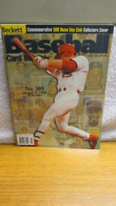Beckett Baseball Monthly Magazine Mark McGwire October 1999  Card Price Guide
