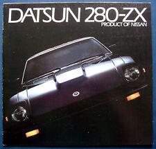 Prospekt brochure 1983 Datsun 280-ZX (USA)