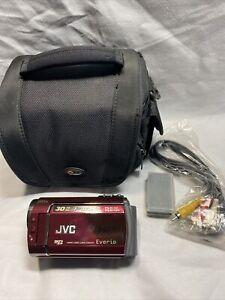 JVC Everio HDD Camcorder Video Camera GZ-MG330RU I2