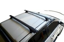 Aero Roof Rack Cross Bar for Toyota HiLux Double Cab 06-15 135cm Extended Black