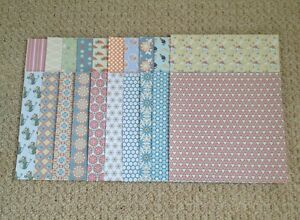 Craft, Scrapbooking, Card Making Backing Papers, (20 Sheets)