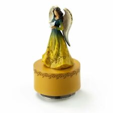Willow Tree Figurines Collection – Sculpted Musical Angel Holding A Dove