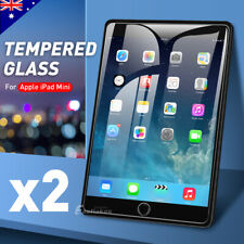 2x New Tempered Glass Screen Protector Film for Apple iPad mini 1 2 3