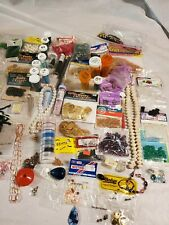 Huge Lot Jewelry Making Beads Findings