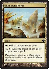 *MRM* FR 4x Rivages inconnus (Unknown Shores) MTG Theros