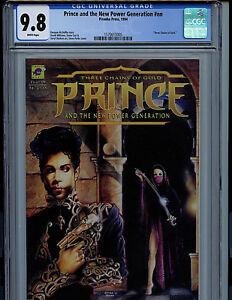 Prince Three Chains of Gold #1 CGC 9.8 NM/MT 1994  k8