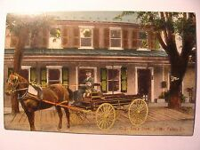 O P Rex's Store and Horse Drawn Wagon in Jordan Valley PA OLD
