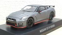 Kyosho 1/64 2017 NISSAN SKYLINE GT-R R35 NISMO GREY diecast car model MIB