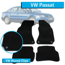VW Volkswagen Passat B5 - (1995-2006) - Tailored Car Floor Mats - Round Fittings