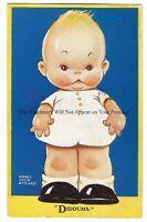 Artist Mabel Lucie Attwell 'Diddums' Vintage Postcard 22.2