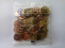EURO STARTER KIT ESLOVENIA 2007 MONEDAS SIN CIRCULAR. SLOVENIA KMS EURO COINS.