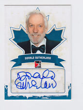 2011 ITG CANADIANA DONALD SUTHERLAND BLUE INK AUTO AUTOGRAPH A-DS1