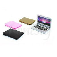 1/12 Dollhouse Miniature Laptop Computer Notebook Study Room Accessory Toy Gift