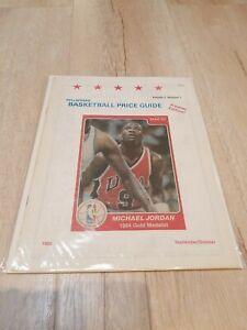 Rare Dellaferas' Basketball Card Price Guide #1 Sept 1989 -Michael Jordan cover