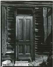1960's Vintage Original Photograph Ghost Town Door Colorado TODD WEBB