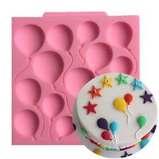 Birthday Cake Accessories Cake Mold Balloon Party Multifunctional Fondant Mold