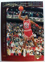 1994 94 Upper Deck Basketball Heroes Michael Jordan #39, Gold Signature, Sharp!