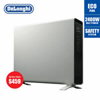 DeLonghi HCX9124E Convection Panel Heater - White Electronic Timer
