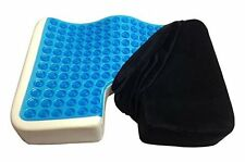 Cool Gel Memory Foam Large Seat Cushion Great for Sciatica Back & Tailbone Pain