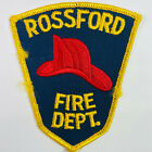 Rossford Fire Department Wood County Ohio OH Patch (J3)