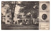 The Warner House on Constitution Island, NY Intaglio Seals Postcard *5F(2)33