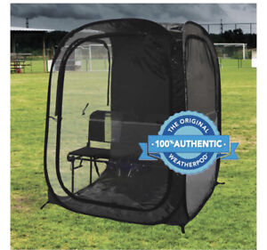 Under the Weather InstaPod XXL Double Black Pop-Up Tent Shelter Shade Sports Pod