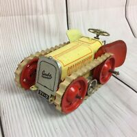 Vintage Gescha Tinplate Clockwork Tractor