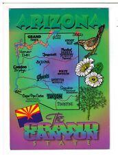 Postcard: Arizona - The Grand Canyon State