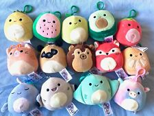 "BNWT Squishmallow Bag Clip On 3.5"" Keyring Choose Your Own!"