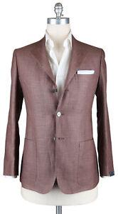 New Sartorio Napoli Brown Plaid Sportcoat - 38/48 - (UGG322S410709)