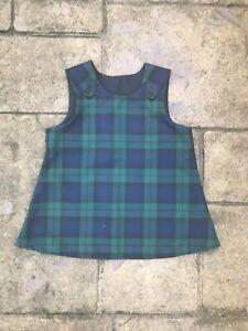 Black Watch Tartan  Pinafore, Dress, babies, children