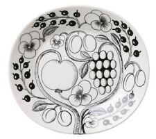 Kaipiainen Paratiisi Black Oval Dinner Plate Iittala Arabia Finland NEW