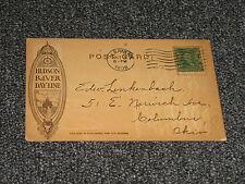 Hudson River Dayline Postcard 1908