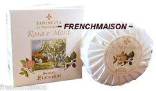 Speziali Fiorentini Rose & Blackberry Italian Florence Tuscan Fine Soap Gift New