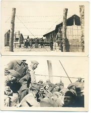 Lot of 7 Real Photo Postcards - Looks Like Prisoners of War from WW I