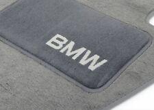 BMW OEM Gray Carpet Floor Mats w/Heel Pad 2004-2010 E83 X3 2.5i 3.0i 82110305003