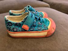 Keen Coronado Canvas Shoes Girls Toddler Size 5 Pink Purple Blue Vegan