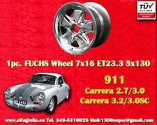 1 Stk cerchio Porsche Fuchs 911 polished Felge 7x16 TÜV 1 pc. wheel jante llanta