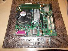 Intel Q6600 Quad Core CPU Intel DQ965GF Socket 775 Motherboard Combo + 4GB Ram