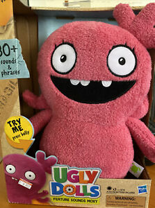 UglyDolls Feature Sounds Moxy, Stuffed Plush Toy that Talks, NEW In BOX