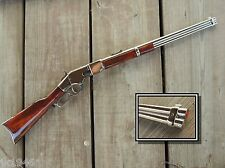 Collector Classic Deluxe Finish Replica 1866 Winchester Rifle Cowboy Prop Gun
