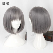 FIXSF891 new style fashion dark gray short cosplay Hair wig Wigs for women